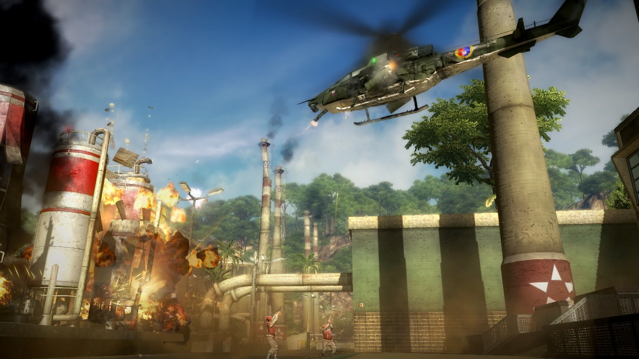 Just Cause 2 hits 360, PS3, and PC on March 4 screenshot