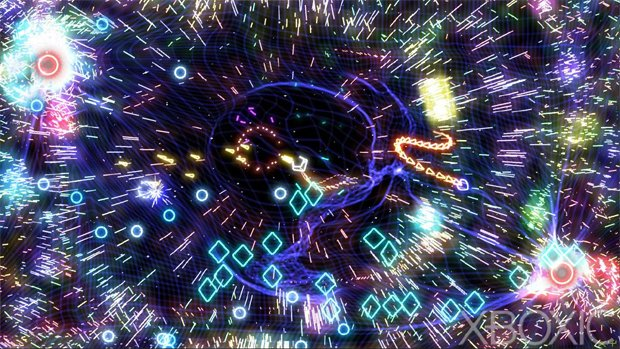 Geometry Wars Touch now available for iPad photo