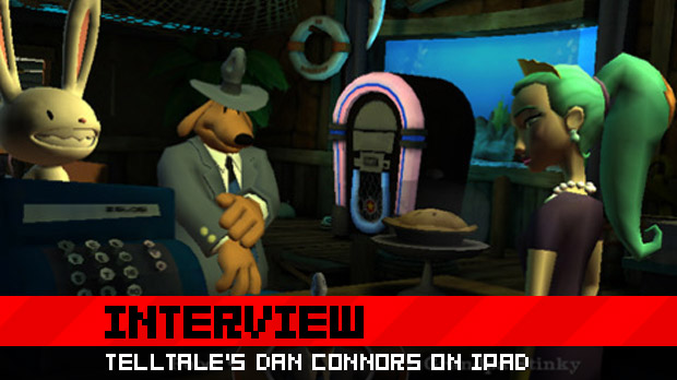 Telltale's Dan Connors on the iPad, Sam & Max screenshot