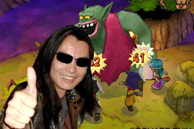 Itagaki has logged 400 hours in Dragon Quest IX screenshot