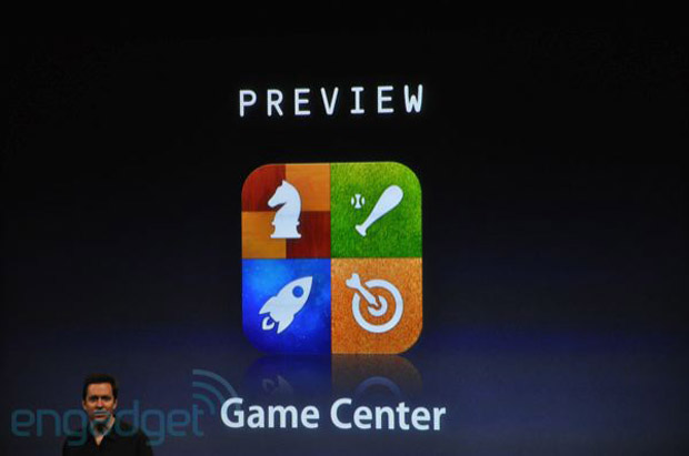 Apple announces Game Center for iPhone OS 4.0 screenshot