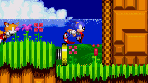 Sonic the Hedgehog 2 staggering onto iPhone/iPod Touch screenshot
