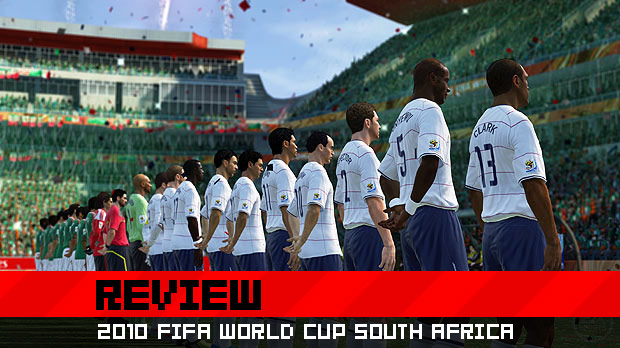 Review: 2010 FIFA World Cup screenshot