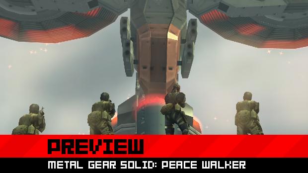 An overview of MGS: Peace Walker's main adventure screenshot