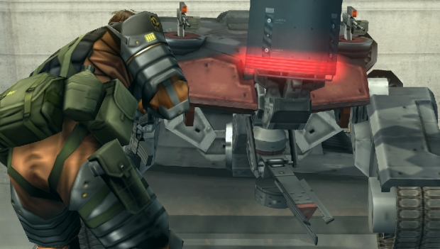 How to be a pervert in Metal Gear Solid: Peace Walker screenshot