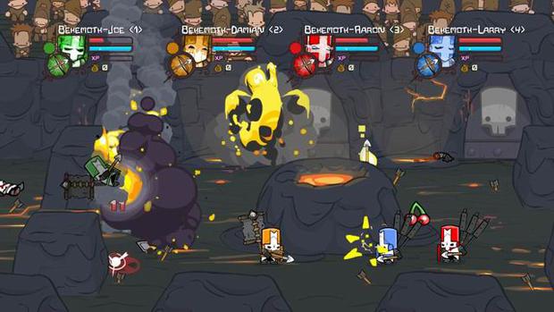castle crashers knight comparison essay