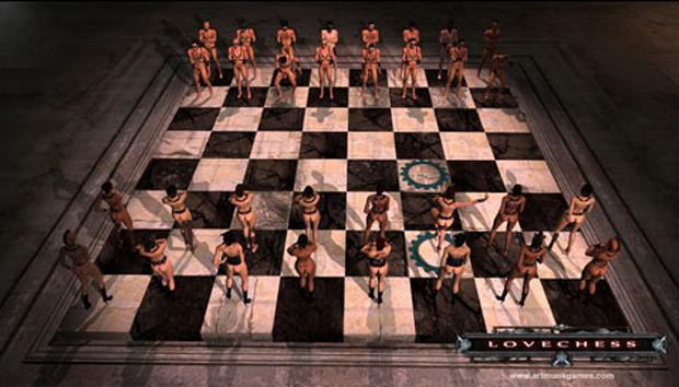 Секс игра в шахматы