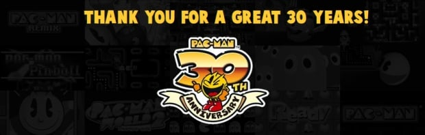 Pac-Man celebrates 30 with sales, video and a car screenshot