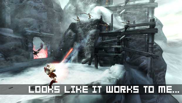 Want to playtest God of War: Ghost of Sparta?  screenshot