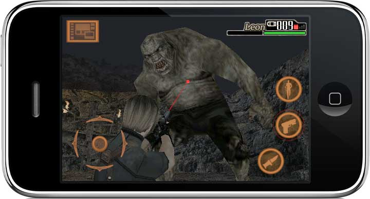 Resident Evil 4 for iDevices get cheapo 50% off sale screenshot