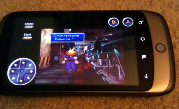 Android PlayStation emulator is in the works screenshot