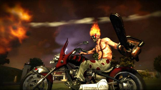 E3 10: Twisted Metal PS3, a fighting game with cars photo