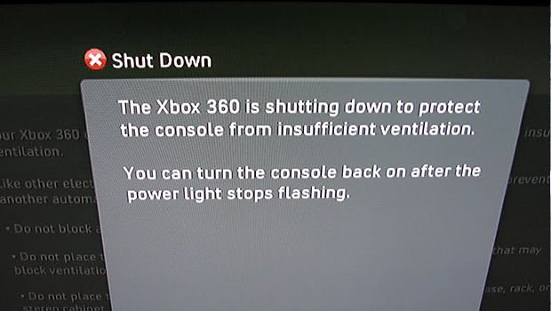 Xbox 360 slims shut down to prevent Red Ring of Death