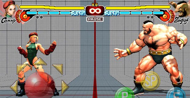 Street Fighter IV for iPhone gets Cammy and Zangief screenshot