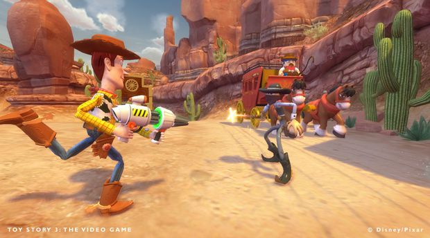 Woody Toy Story Games : Review toy story the video game