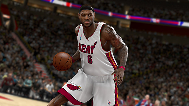 NBA 2K11 already has LeBron James in a Miami Heat jersey