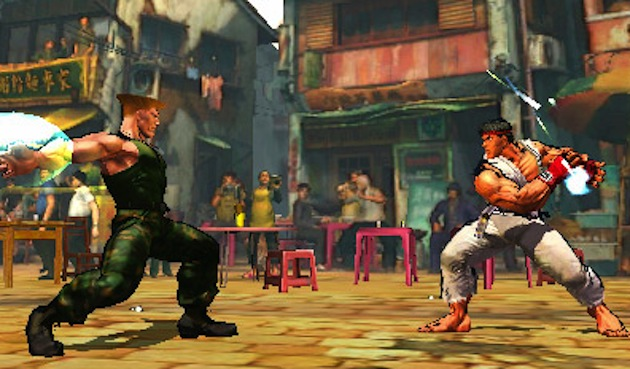Capcom: 3DS is the perfect fit for Street Fighter IV screenshot