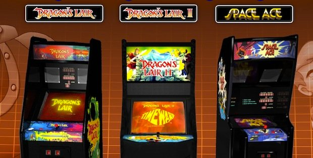 Wii U Arcade Machine : Dragon s lair trilogy packs in the classics for wii