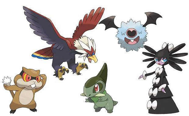 Pokemon Black/White wont be overrun with old Pokemon photo