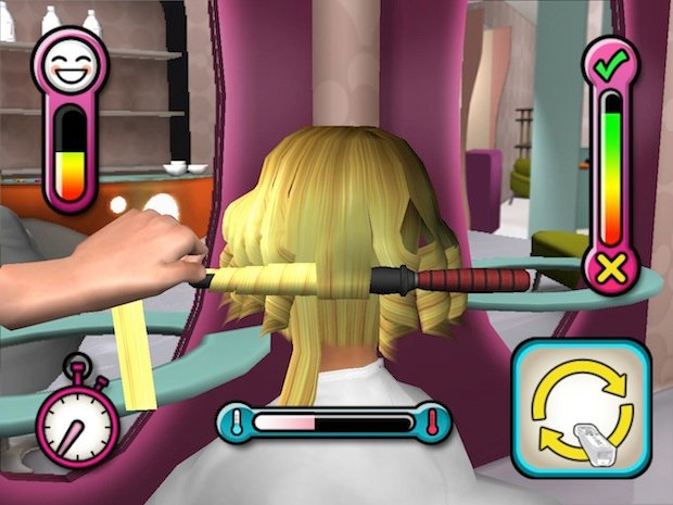 They Seriously Made A Hair Cutting Game
