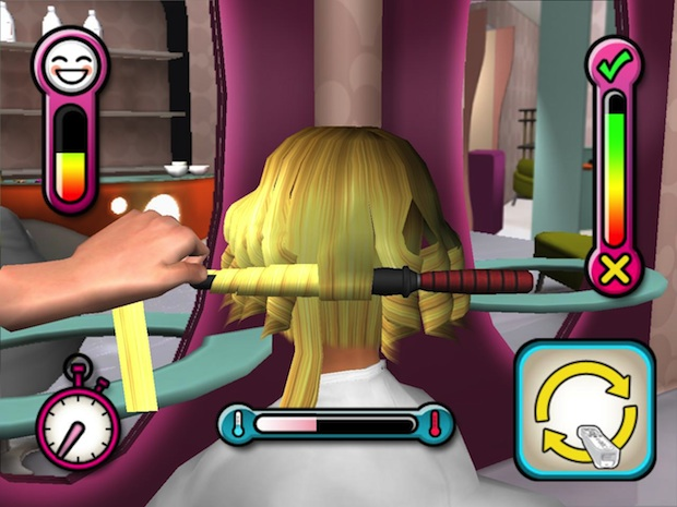 They seriously made a hair cutting game for 3d beauty salon games