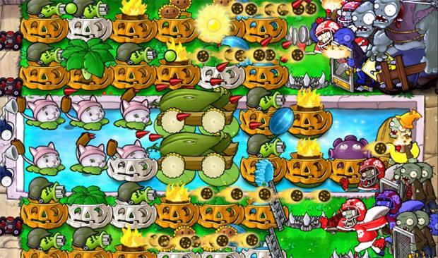 Игру Plants vs Zombies Rus скачать на компьютер торрент. Бесплатно