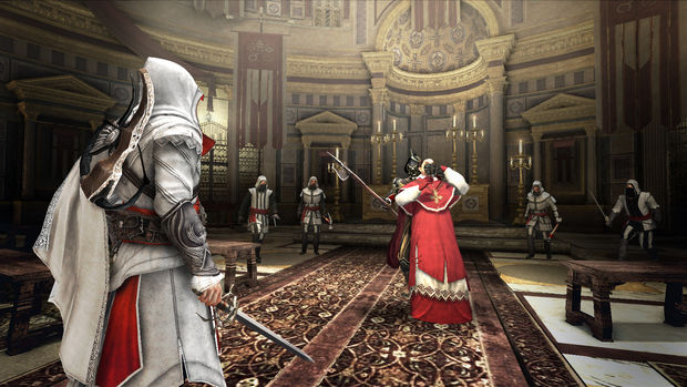 Assassin S Creed Brotherhood Devs Forced To Wear Robes