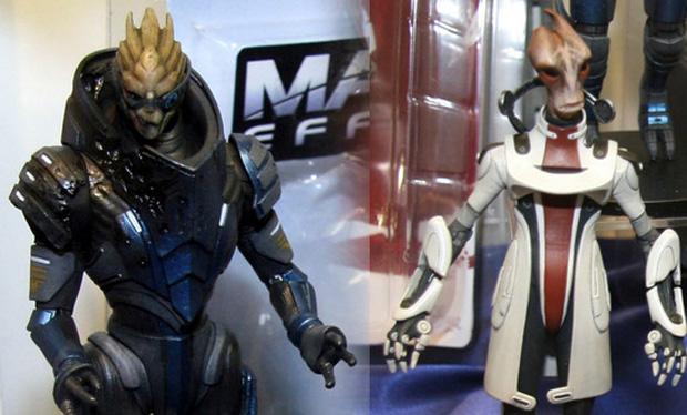 Mass Effect Figures Series 3 at The Mass Effect Series