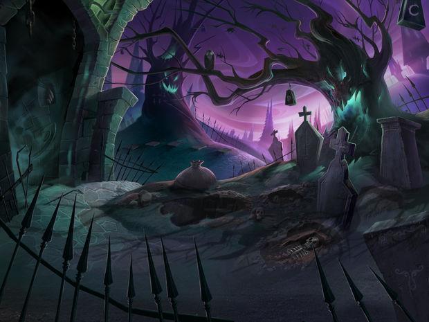 Drawn: Dark Flight  Graveyard-620x