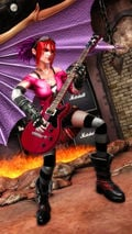 A look at Guitar Hero's crazy Warriors of Rock photo