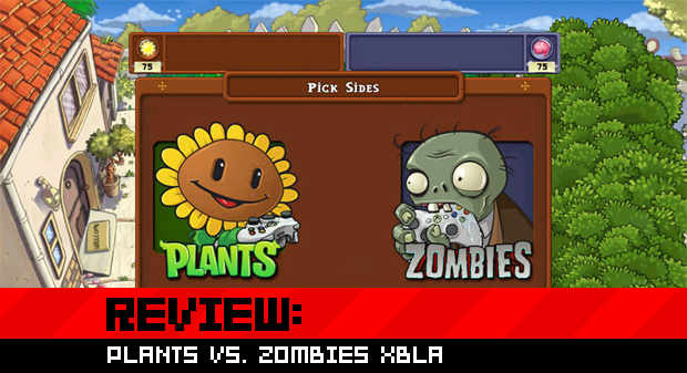 Review: Plants vs. Zombies XBLA photo