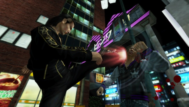 TGS: Yakuza Black Panther PSP hands on photo