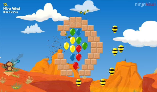 Spend the weekend popping balloons with BEES in Bloons 2 photo