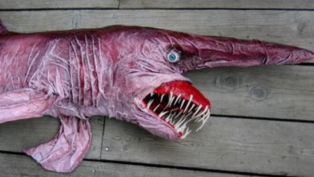 Акула-гоблин.