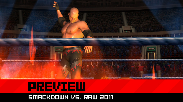 Getting the smackdown on WWE Smackdown vs  Raw 2011