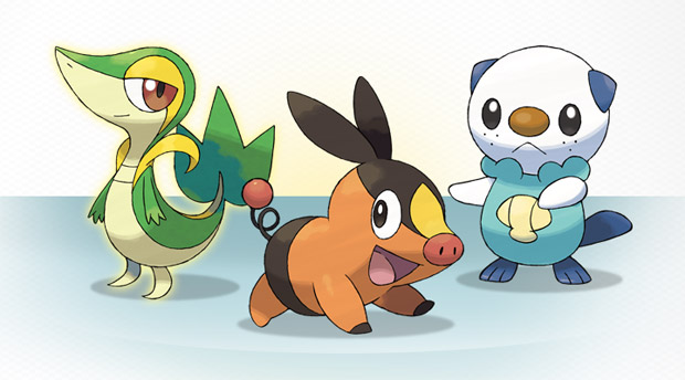 pokemon black and white starters fully. Pokemon Black/White starters