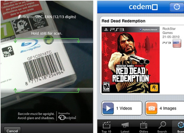 Iphone App Lets You Scan Any Game Barcode For Info