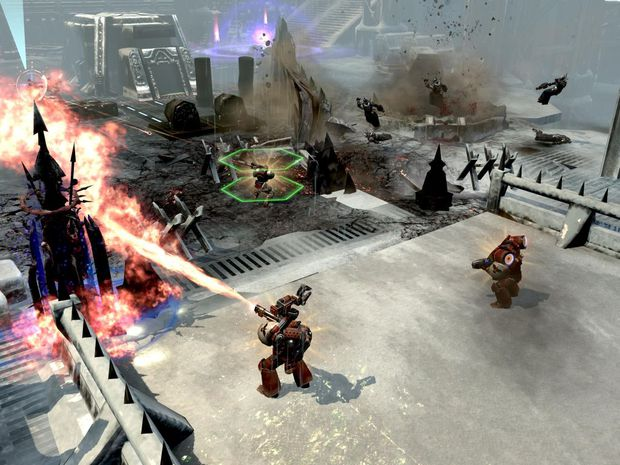 Warhammer 40000 Dawn of War 2. The Warhammer 40K DOW II