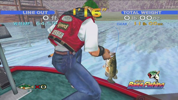 No sega marine fishing in this sega dreamcast collection for Fishing games for xbox 360