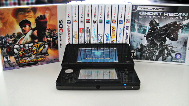 3DS at launch, you're likely suffering anxiety over which game