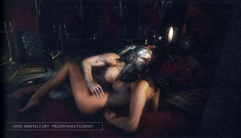 Эротические сцены в Ведьмаке 3