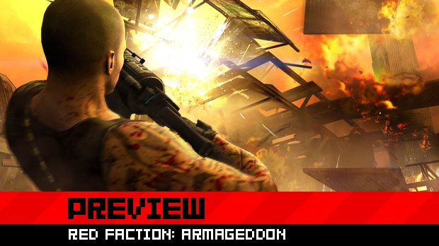 Hands-on: Red Faction: Armageddon, round two photo