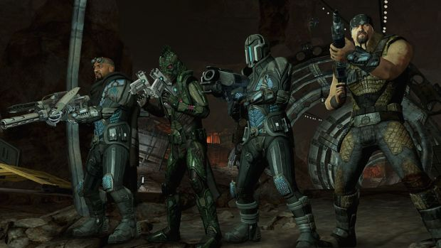 This is Red Faction: Armageddon's 'horde' mode photo