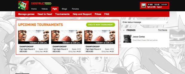 Fight.destructoid tournaments