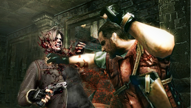 How Barry beat Leon to Resident Evil: Mercenaries 3D Xbox Raccoon City