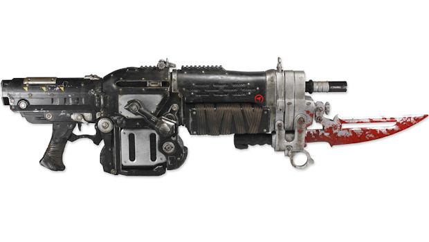 Gears of War 3 replica Retro Lancer is OHMYGODWANTIT!