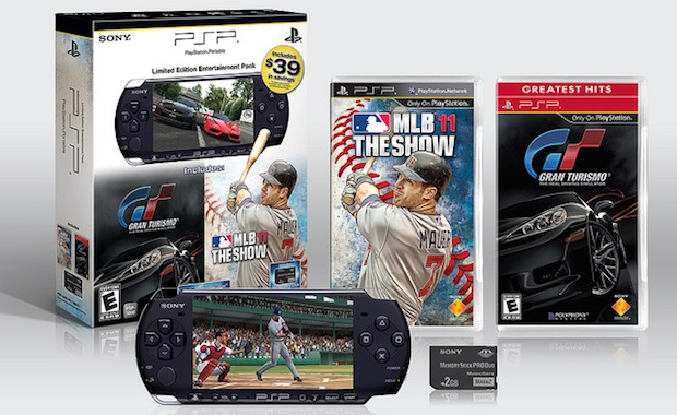New PSP bundle with Gran Turismo, MLB 11 The Show photo