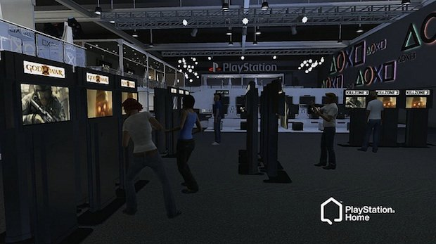 Sony E3 press conference and booth in PlayStation Home screenshot
