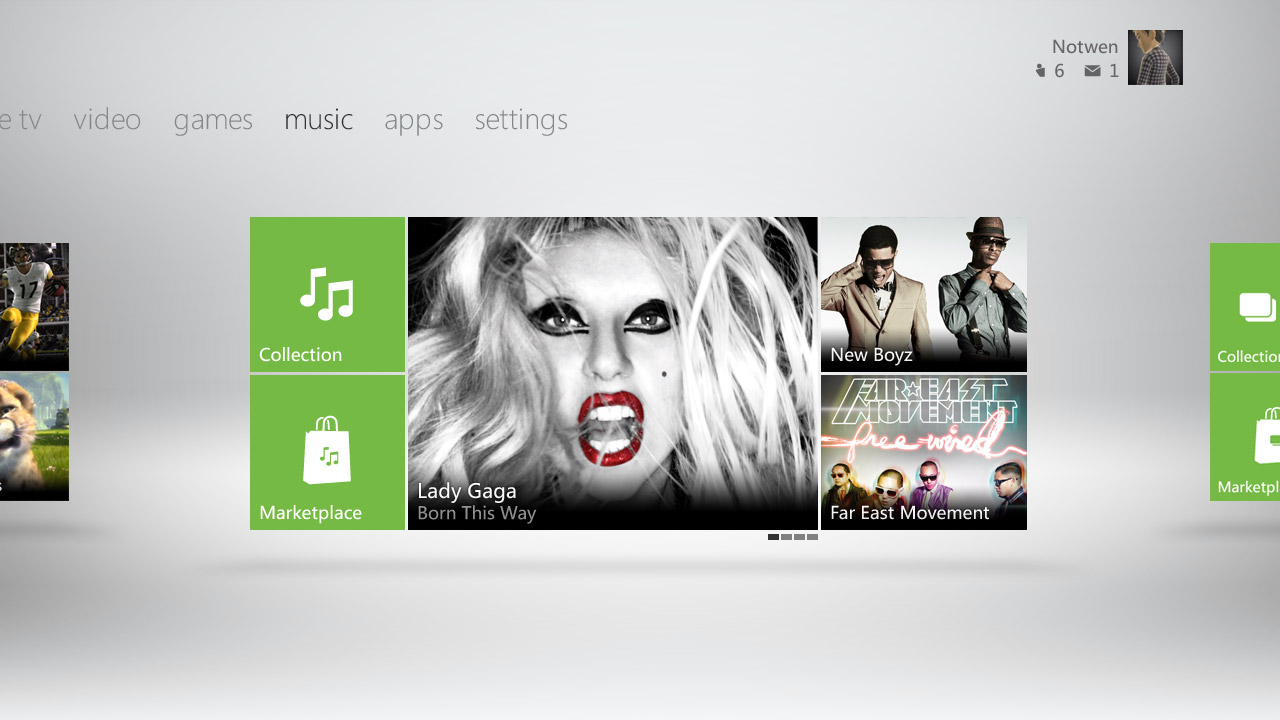 E3: Here's what the new Xbox 360 dashboard looks like