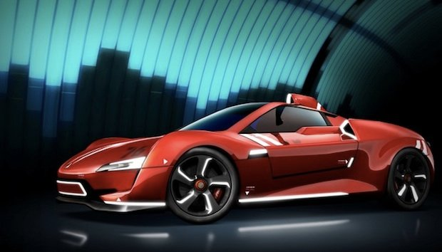 E3: Ridge Racer Vita was teased in a cool way screenshot